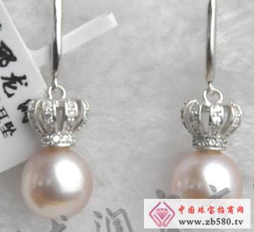 倾世皇妃S925镶嵌珍珠耳坠