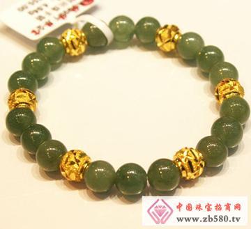 黄金串珠手链