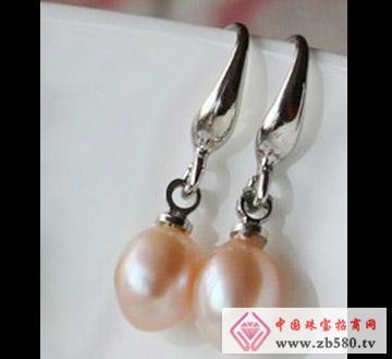 百分珍珠--珍珠耳环01