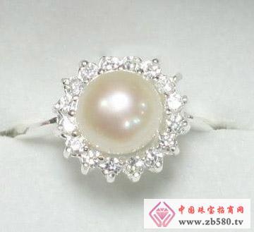 百分珍珠--珍珠戒指