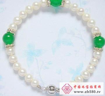 百分珍珠--珍珠手链01
