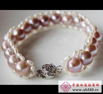 百分珍珠--珍珠手链02