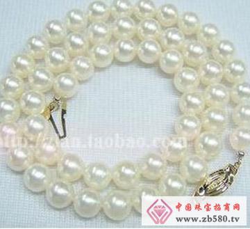 百分珍珠--珍珠项链01