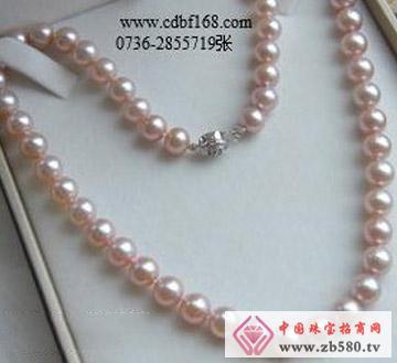 百分珍珠--珍珠项链02