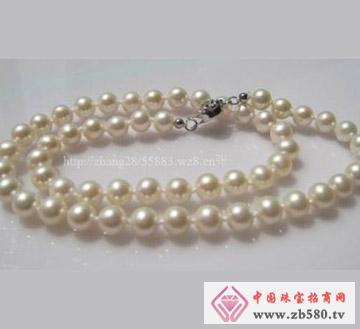 百分珍珠--珍珠项链03