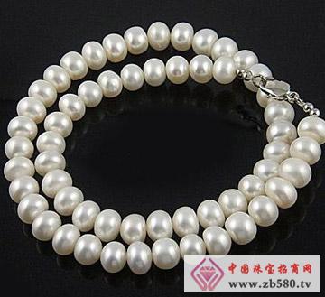 百分珍珠--珍珠项链04