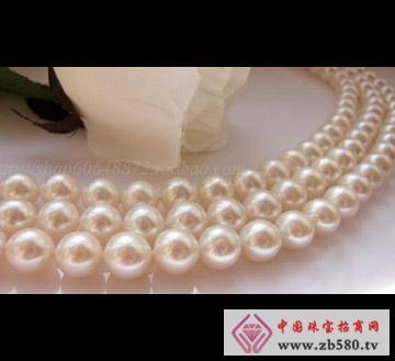 百分珍珠--珍珠项链05