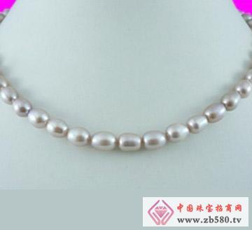 百分珍珠--珍珠项链07