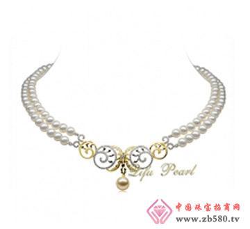 祺福珍珠--18K金淡水珍珠项链
