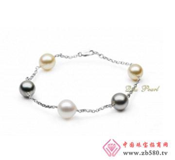 祺福珍珠--18K金南洋珍珠手链