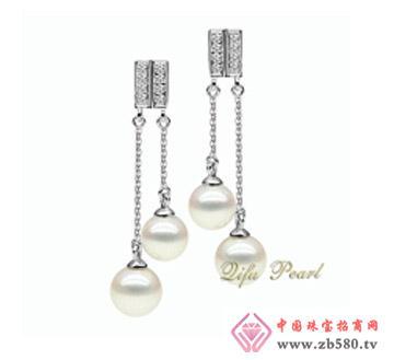 祺福珍珠--925银海水珍珠耳环