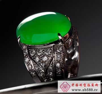 一品翠--18K镶嵌戒指