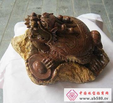 南流江玉石-龙龟