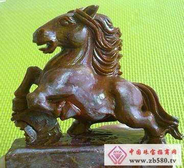南流江玉石-马