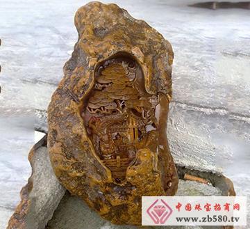 南流江玉石-仙居