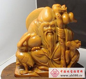 南流江玉石-仙翁