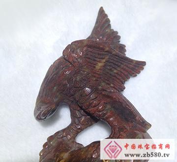南流江玉石-雄鹰