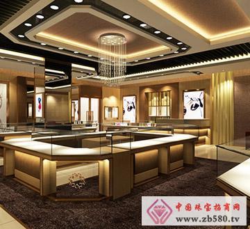 恒星珠宝展厅修改效果图角度3