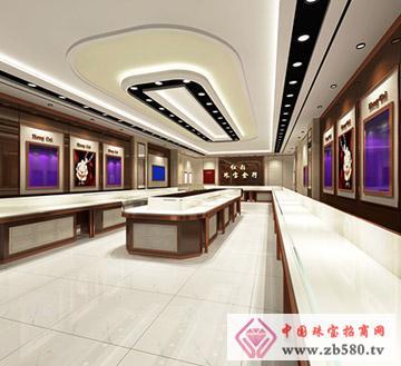 广州番禺红彩珠宝金行方案角度1