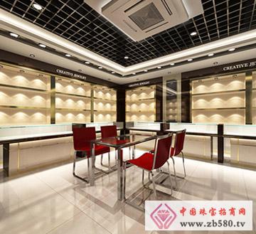 创意首饰展厅角度3(33968)_译宣设计工作室_中国珠宝.