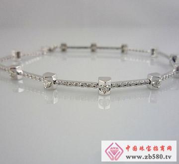 麒嘉珠宝--钻石手链01