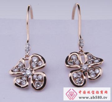 鑫钿珠宝-钻石耳坠