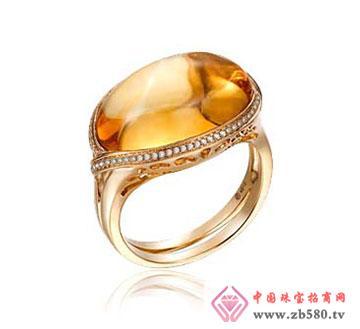 黄宝石戒指