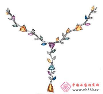 恋缘-彩宝项链