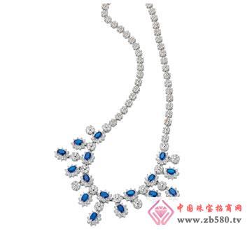 夏之恋-蓝宝石项链