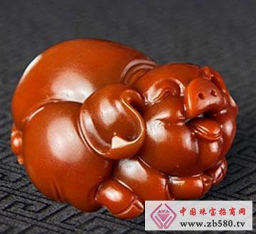 南红--财猪
