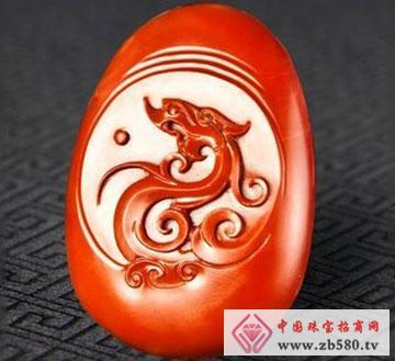 南红--龙