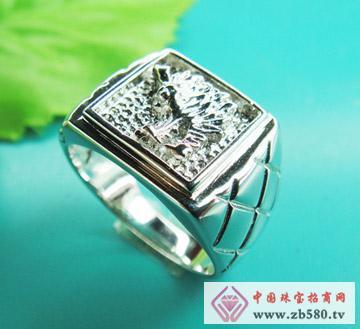 雅鑫艺首饰--925银-素银戒指