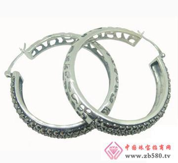 雅鑫艺首饰--925银-泰银耳环