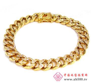 三鑫珠宝--黄金手链1