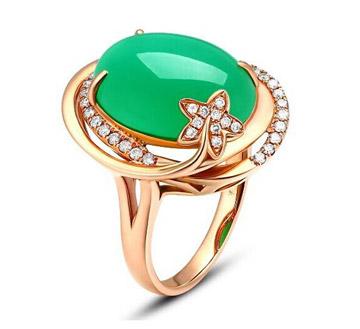 爱丽丝珠宝-澳玉戒指