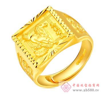 老凤黄金-黄金男士戒指