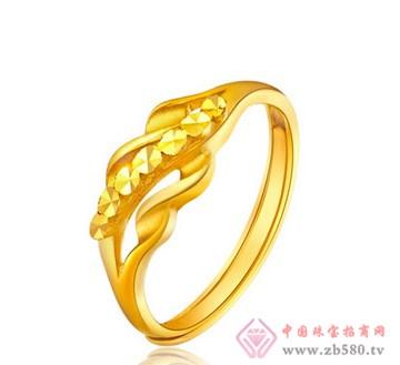 老凤黄金-黄金女士戒指