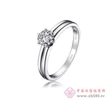 老凤黄金-钻石婚戒