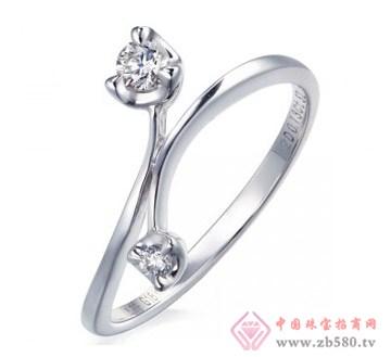 老凤黄金-钻石女士戒指