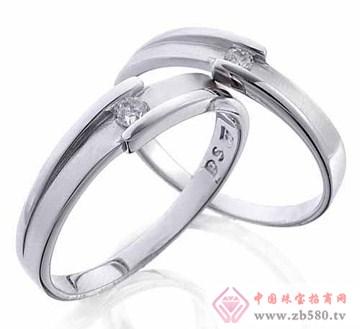 艾蒂诺银饰-纯银戒指-携手