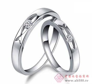 艾蒂诺银饰-纯银戒指-遇见