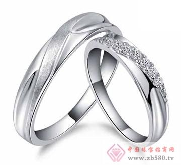 艾蒂诺银饰-纯银戒指-珍惜