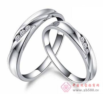 艾蒂诺银饰-纯银戒指-钟爱一生