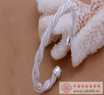 佰纳福珠宝-纯银手镯