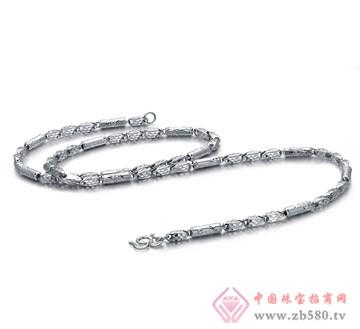 金麒隆-铂金项链