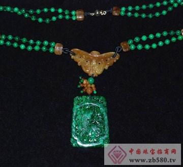 美玉人生-玉石项链-如意