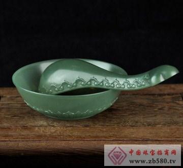 有儒玉府-青玉薄胎碗