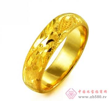 锦邦珠宝-龙吐珠戒指