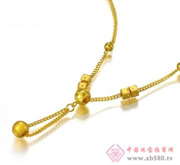 锦邦珠宝-吊珠项链