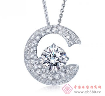 锦邦珠宝-列钻石吊坠